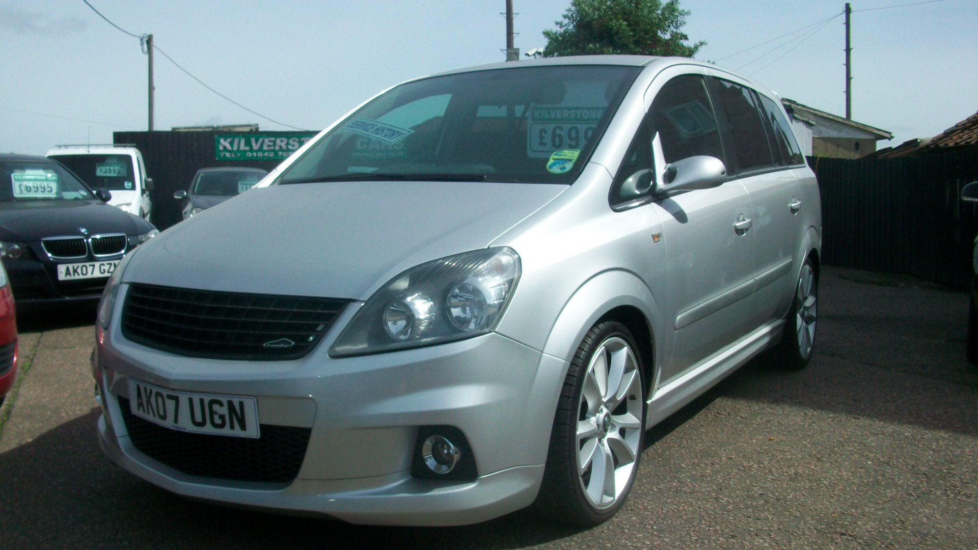vxr zafira 250bhp kilverstone cars used cars thetford. Black Bedroom Furniture Sets. Home Design Ideas