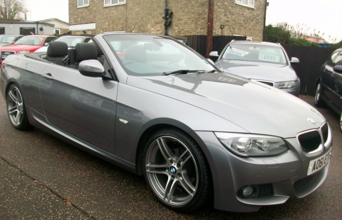 BMW 320 M Sport Convertible - Kilverstone Cars Used Cars ...
