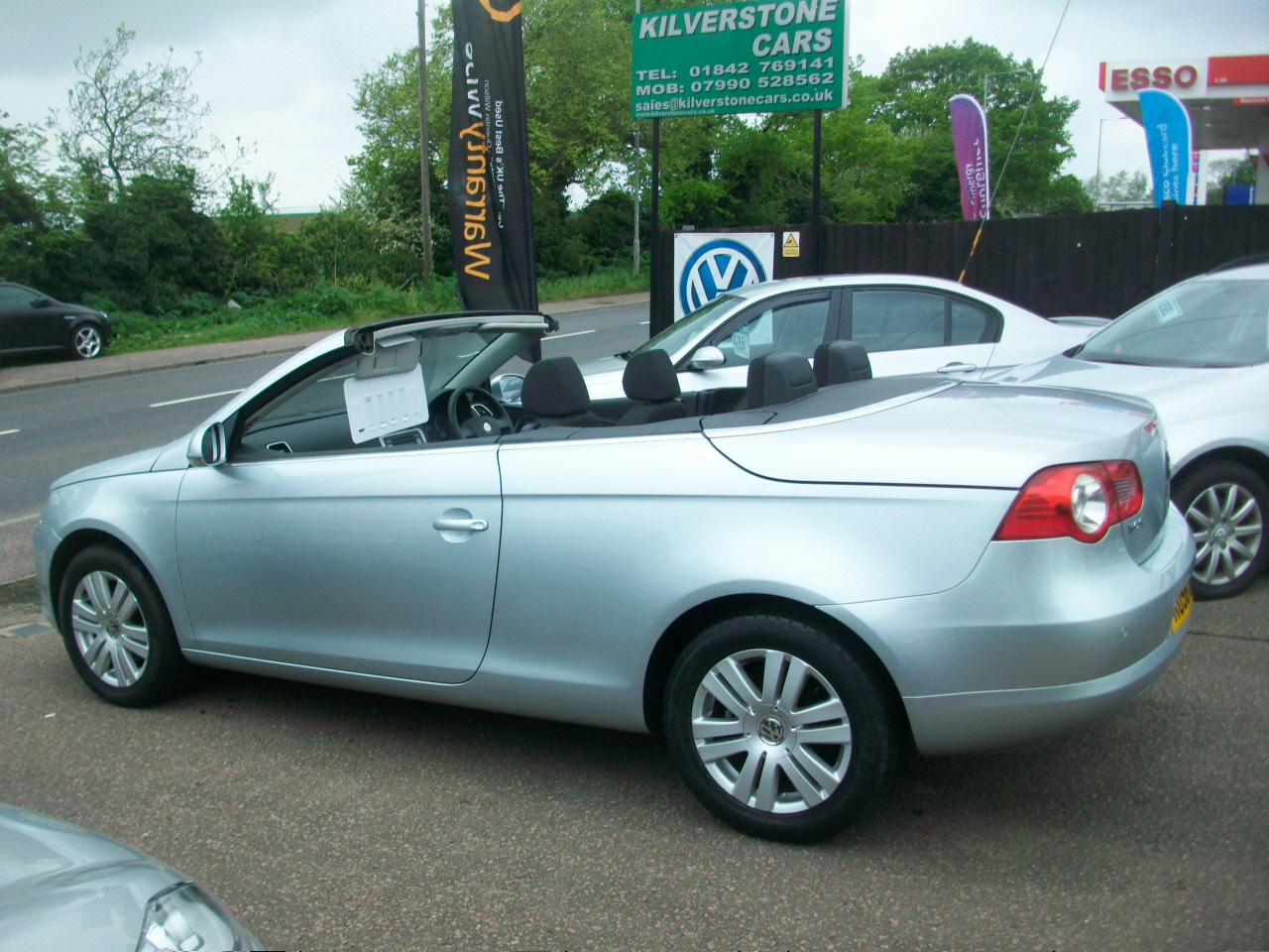 Vw Eos 1 6 Convertible Kilverstone Cars Used Cars Thetford